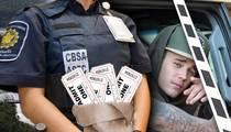 Justin Bieber's Entourage Accused of Bribing Canadian Border Officials
