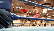 MMA Robbery Hero -- 18-SECOND VICTORY ... In 1st Post-Robbery Fight!