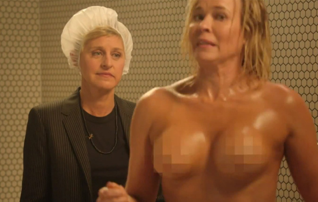 Ellen DeGeneres Surprises Chelsea Handler In the Shower & More Finale Moments!