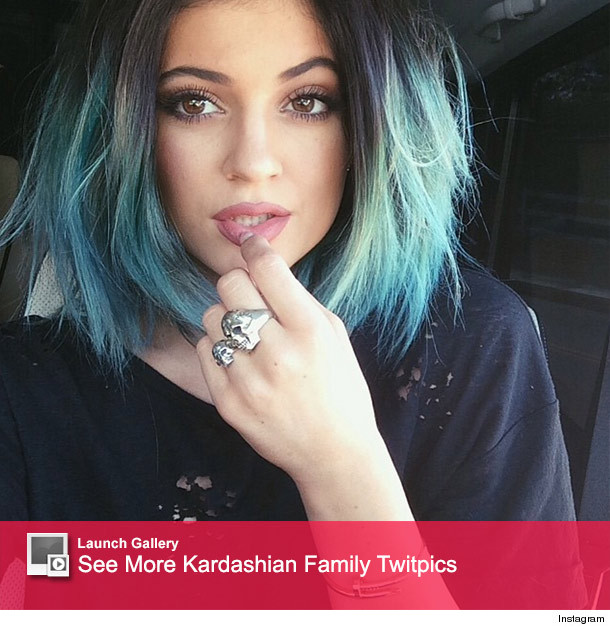Kuwtk Finale Kim Is Pissed Kylie Might Have Blue Hair At Her