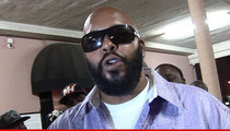 Suge Knight --  Released From the Hospital ... Nursing Gunshot Wounds at Home
