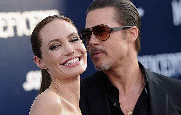Brad Pitt and Angelina Jolie Are Married -- See First Pic of His Wedding Band!