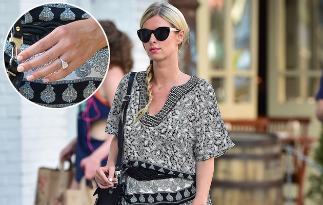 Nicky Hilton's Shows Off HUGE Engagement Ring -- See the Pic!