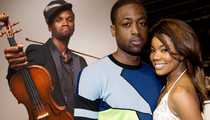 Dwyane Wade -- Taps Michael Jordan's Violinist ... To Perform at Wedding