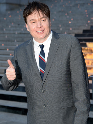Mike Myers Shares First Pics of Son Spike and Daughter Sunday