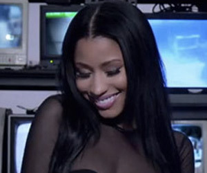 "Nicki Minaj Flaunts Killer Curves in Usher's ""She Came to Give It To You"" Music…"