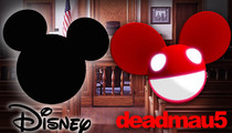 Deadmau5 -- Of Mice Against Men ... Disney Fights DJ Over Ears Logo
