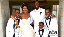 Dwyane Wade Wedding -- Yes, LeBron Was There