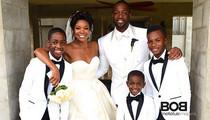 Dwyane Wade Wedding -- Yes, LeBron Was There