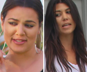 "Major Drama Teased In ""Khloe & Kourtney Take The Hamptons"" Trailer"