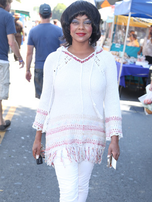 Lark Voorhies Spotted at Farmer's Market in LA -- See the Rare Pic!
