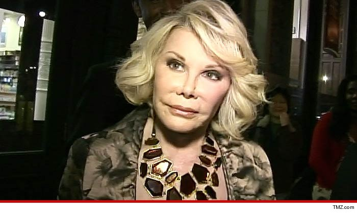 Joan Rivers Dead Legendary Comenne S At 81