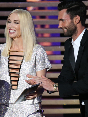 "Gwen Stefani Jokes About ""Colbert Report"" Flub at the Emmys"
