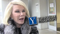 Joan Rivers -- Endoscopy Clinic Targeted with Death Threats