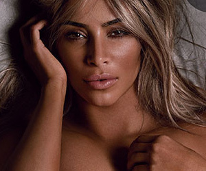 Kim Kardashian Gets Totally Naked for British GQ