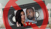 Kim Kardashian -- Kanye West Sex Tape DOES NOT EXIST