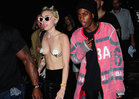 Miley Cyrus -- Topless Is Always in Fashion