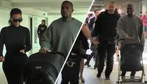 Kanye West -- Pop Quiz ... in Airport Anger Management