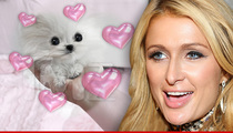 Paris Hilton -- Her New Man Is Insanely Expensive ... And Might Crap Her Floor