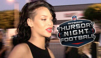 CBS Pulls the Plug On Rihanna for Ravens/Steelers Game