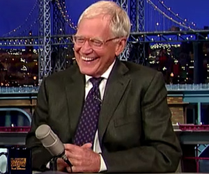 "David Letterman Cracks Up Playing ""Celebrity Child or Kentucky Derby Winner?""…"