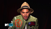Chris Brown -- Advises Ray Rice ... Control Yourself and Don't F-Up