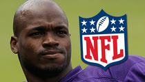 Adrian Peterson -- NFL Asks D.A. ... Give Us Everything You Got in Child Abuse Case