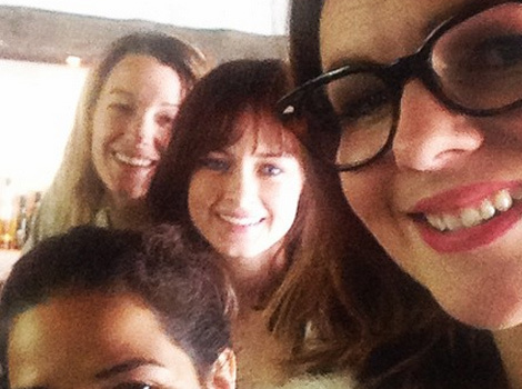 """Sisterhood of the Traveling Pants"" Foursome Reunites for Brunch"