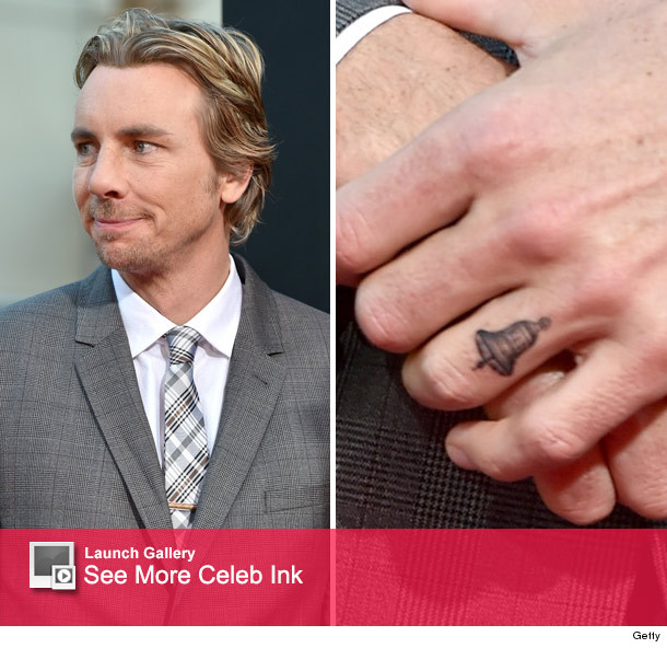 "Dax Shepard Debuts Tattoo Tribute to Kristen Bell at ""This ..."