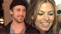 Ryan Gosling & Eva Mendes -- The Cover Up Is Over ... We Just Had A Baby!