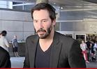 Keanu Reeves -- Super-Coolly Subdues Home Intruder