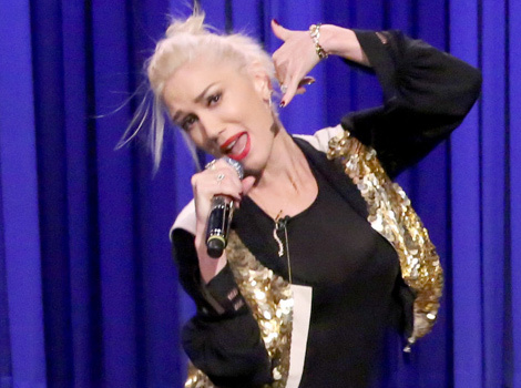 See Gwen Stefani, Blake Shelton and Jimmy Fallon Have a Lip Sync Battle!