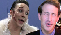Johnny Weir's Hubby Sues -- He Said I Had Herpes And Tried To Rape Him
