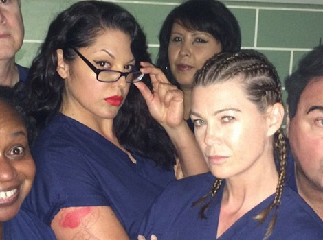 """Grey's Anatomy"" Cast Takes On ""Orange Is the New Black"" -- And the Photo Is Amazing!"