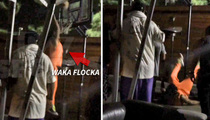 Waka Flocka Flame -- Slam Dunk Fail ... Caught On Video