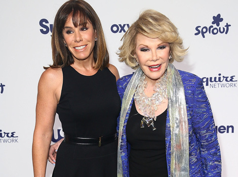 "Melissa Rivers Joins ""Fashion Police"" Cohosts for Joan Rivers Tribute -- See Sneak Peek!"