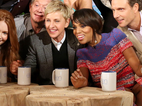 """Scandal"" Stars Spill Secrets on ""Ellen"" in Hilarious Trivia Game!"