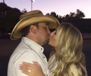 Jason Aldean and Brittany Kerr Are Engaged -- See First Pic of the Ring!