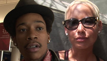 Wiz Khalifa, Amber Rose -- Booty Call Triggered Divorce ... But it Wasn't Cheating