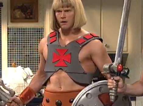 "See Chris Pratt as He-Man on ""SNL"" Premiere -- And Find Out Who Stole the Show!"