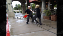 'Kitchen Nightmares' Star -- Threatens to Kill Restaurant Patron ... WITH A KNIFE
