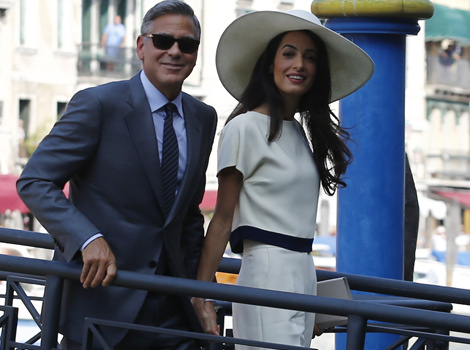George Clooney and Amal Alamuddin Legally Wed in Civil Ceremony -- See the Pics!
