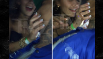 Chris Brown -- SHOVES Woman ... Blocks Her Attempted Kiss