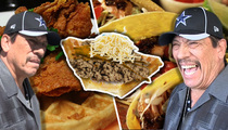 Danny Trejo -- Cooks Up Taco Beef with Famous Chicken Joint