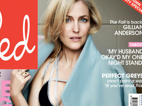 Gillian Anderson Opens Up About Sexism In Hollywood ... and Hot Costar Jamie Dornan!