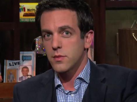B.J. Novak Says Mindy Kaling's Howard Stern Interview Was Awkward