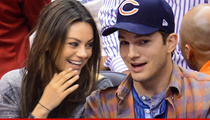 Mila Kunis & Ashton Kutcher -- Dude, Here's Our Baby!