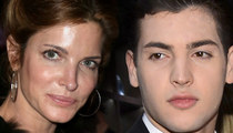 Stephanie Seymour's Socialite Son -- Arrested for Living the High Life