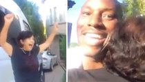Tyrese -- Hooks up the Nanny ... With a BRAND NEW CAR!!!