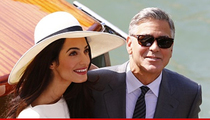 George Clooney -- Italian Wedding Legal and Binding